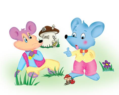砚农耕《两只老鼠》生命原本无贵贱品行缘何有差异