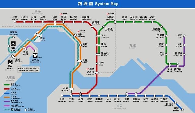 澳门地铁线路图2017
