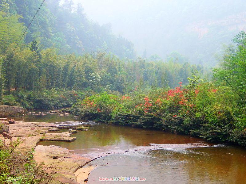 四川省泸州市合江县佛宝风景区-----天堂坝风光