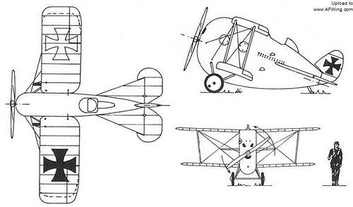 中途岛-飞行小鲸鱼:超可爱的一战德国战斗机-中华网