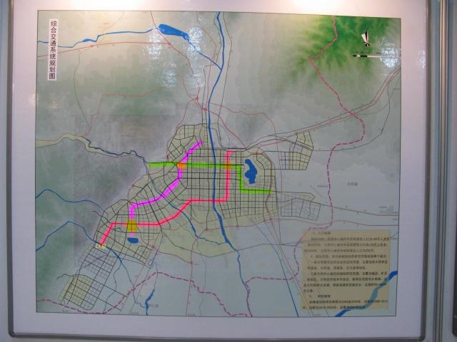 大同城市规划 u201c大同地铁规划图 u201d你看是