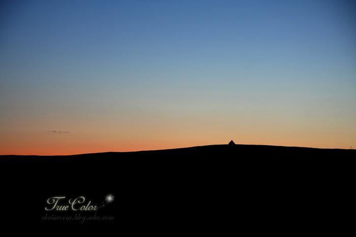 沙漠夜晚 简笔画
