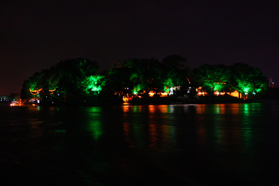 南湖湖心岛.