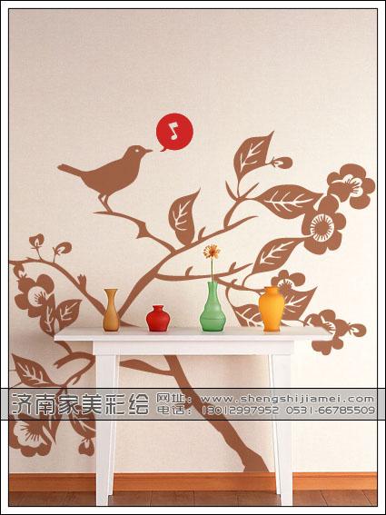 济南家美墙面彩绘|墙体彩绘|手绘墙|墙绘公司友情提示