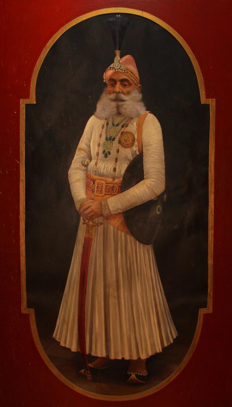 S 印度雄伟奢华的水上宫殿 乌代普尔城市宫殿 独行北印度...