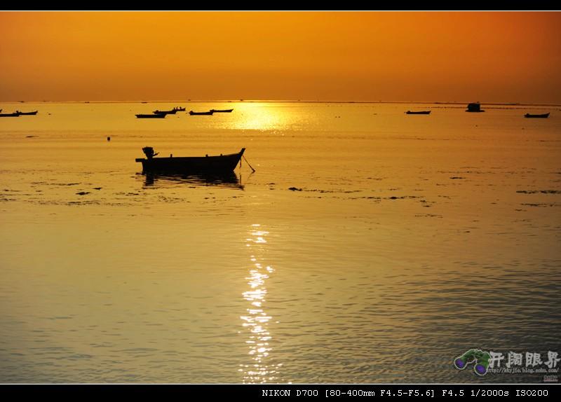 海上风景画渐变