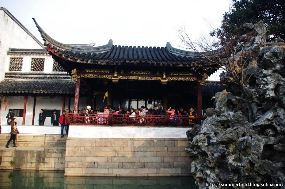 春节自驾游(十) 假山王国狮子林