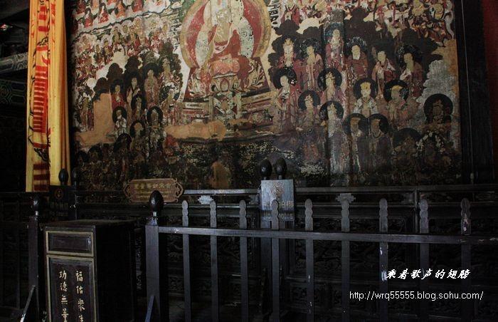 玉水寨 白沙壁画 玉峰寺 丽江游之五 原创照片