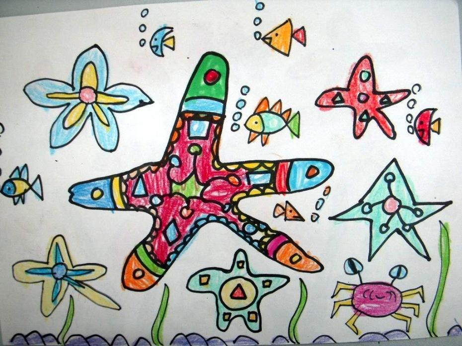 美丽的海星-童梦画册-搜狐博客