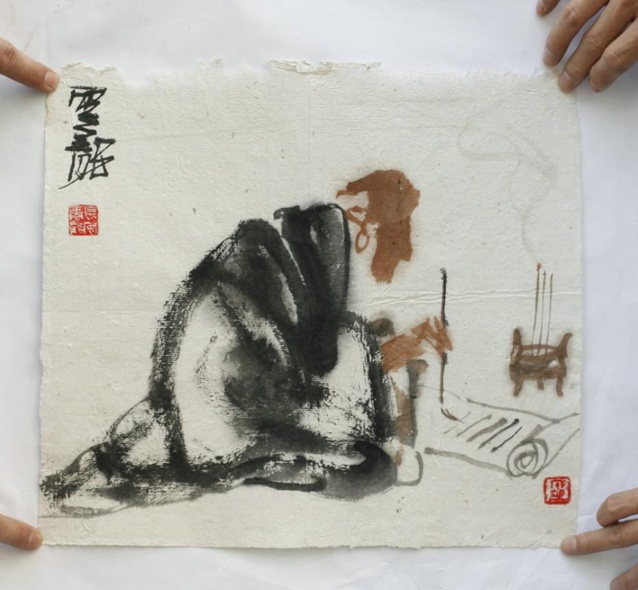 并受到著名画家刘文西 崔振宽诸先生指导 潜心临古 数十年丹青不辍
