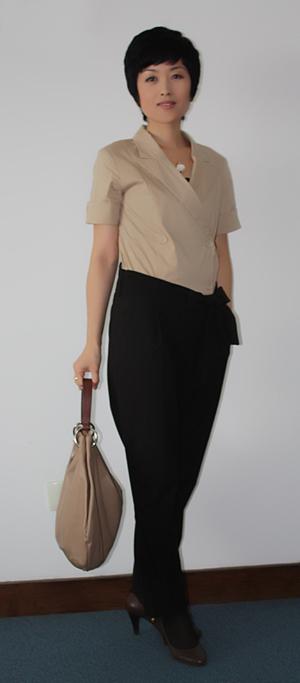 我的日常着装(二)-馨香沉淀-----形象设计师王馨弘的