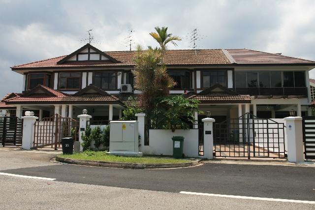 现代农村房子设计图 别墅五间房
