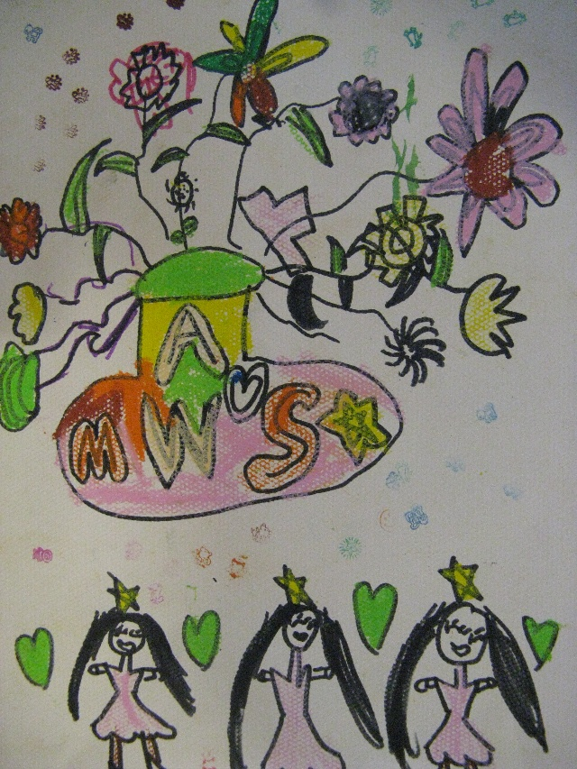 大班孩子画的花和花瓶-蘑菇与大树的幸福生活-搜狐博客