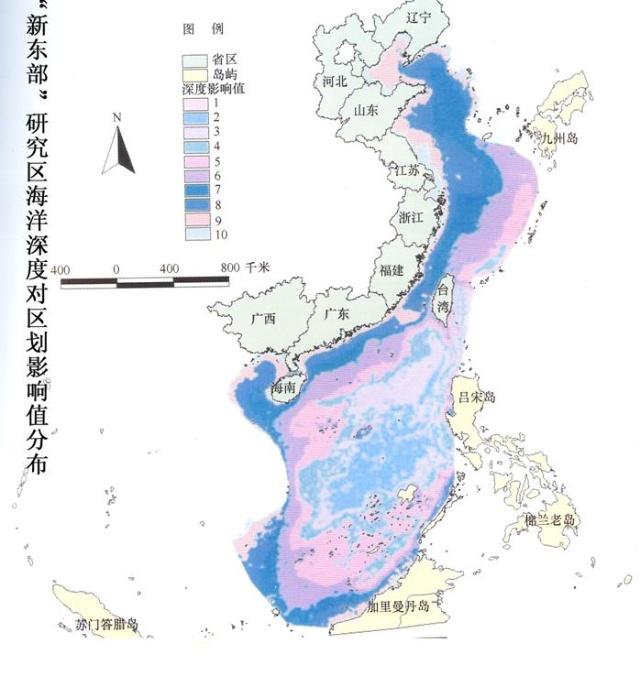 中国海洋高清地图