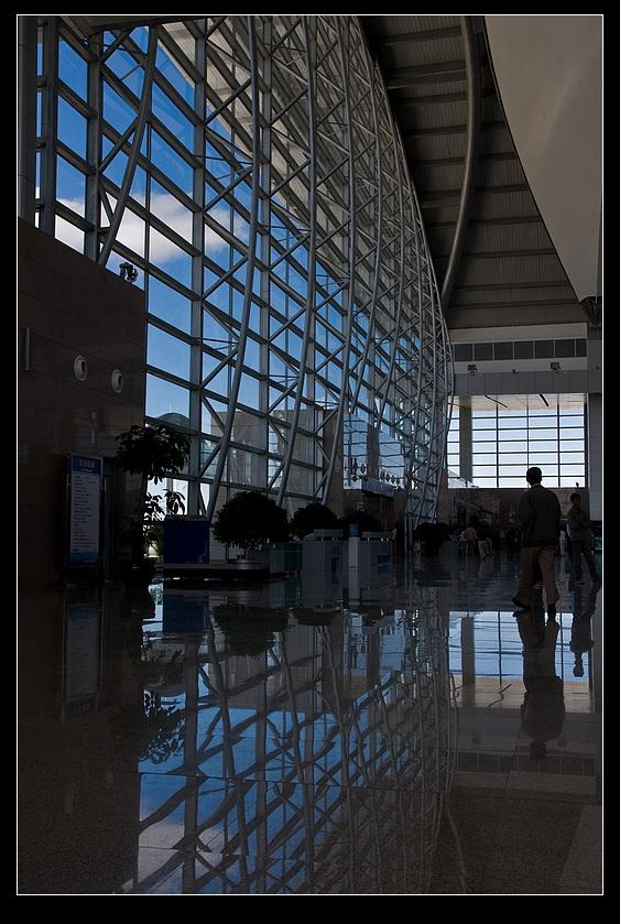 大庆飞机场走马观花游