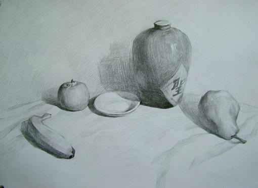 素描的绘画步骤-动感黑白艺术工作室-搜狐博客