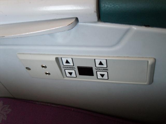 飞机座椅上的按钮图解