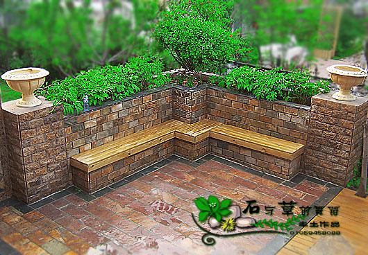 农村院子花坛设计图片