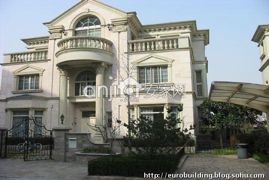汤臣高尔夫别墅--上海早期欧式的典范-欧式建筑论坛