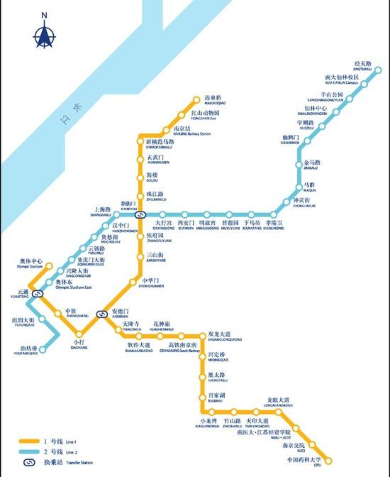 南京地铁2号线试坐