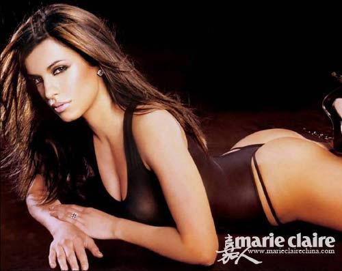 欧美女乔丹俄罗斯极品金发美女性感美女比比欧美金发