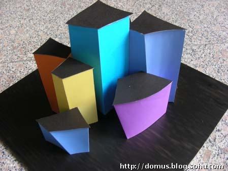 06年空间构成课 创意设计作业