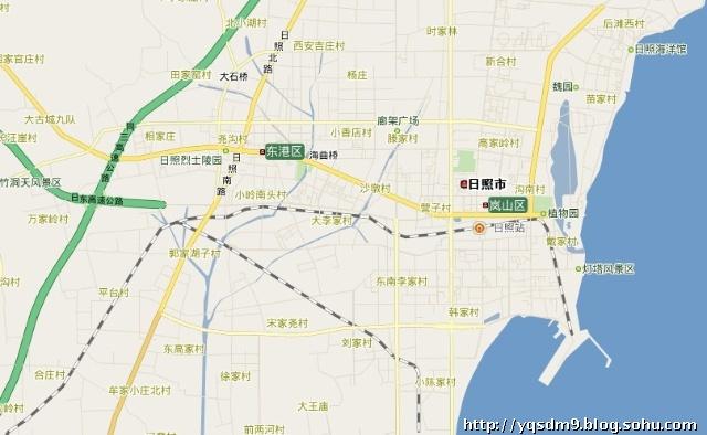 济南到莒县地图