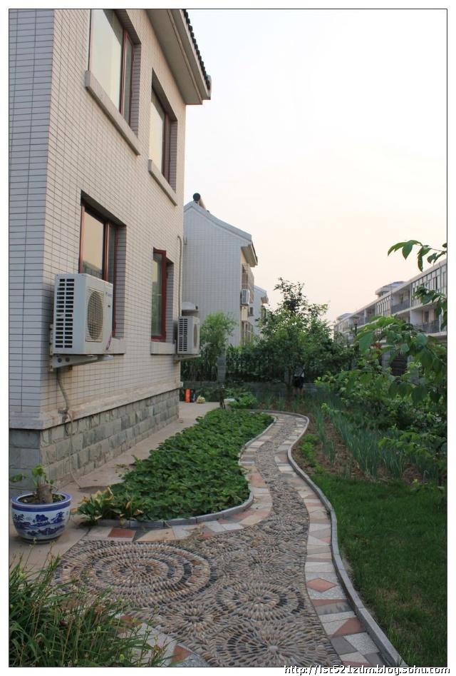 庭院菜园设计效果图农村庭院设计效果图别墅庭院  室外花园设计-农村