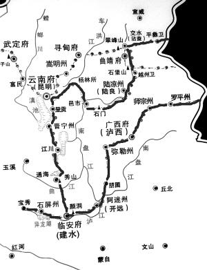 昆明北盘江地图