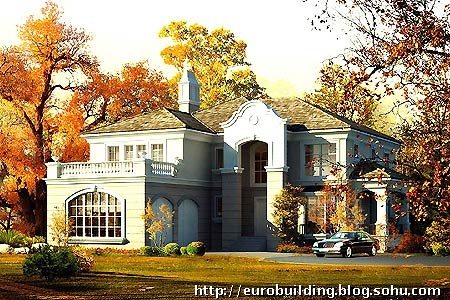 凯笛亚庄园之五 别墅 联排别墅 房型图 规划总平面 效果