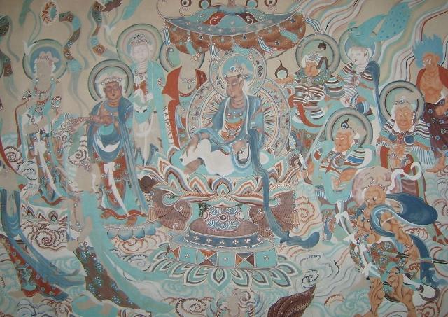 敦煌壁画造型特色及绘画风格初探图片
