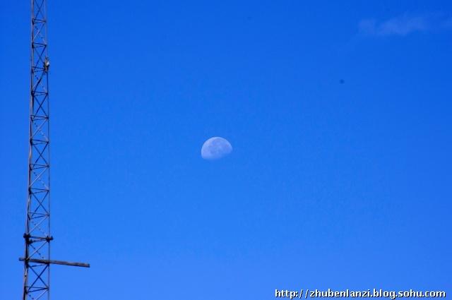 水墨素材 蓝色 天空