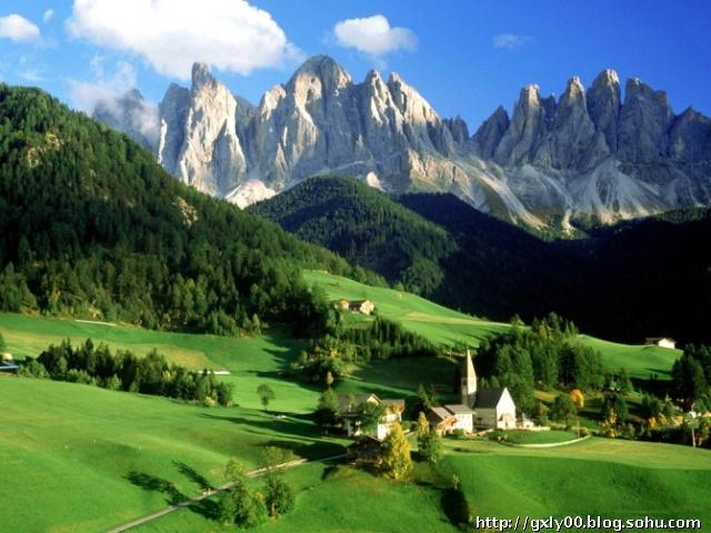 最美风景,世界最美的地方图片