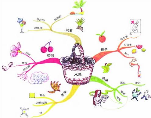 有关思维导图其实也是很简单,就像是大树为主干,树干和树枝为分支