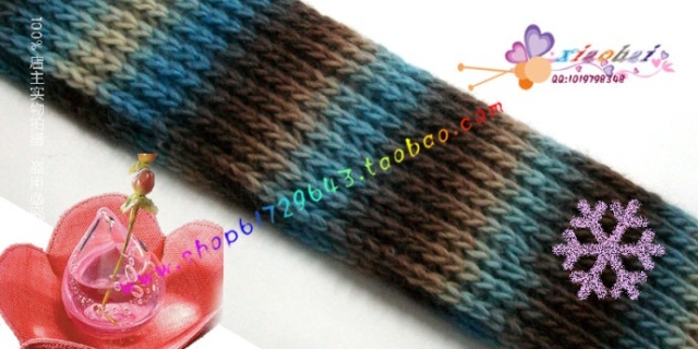 双元宝围巾织法视频教程