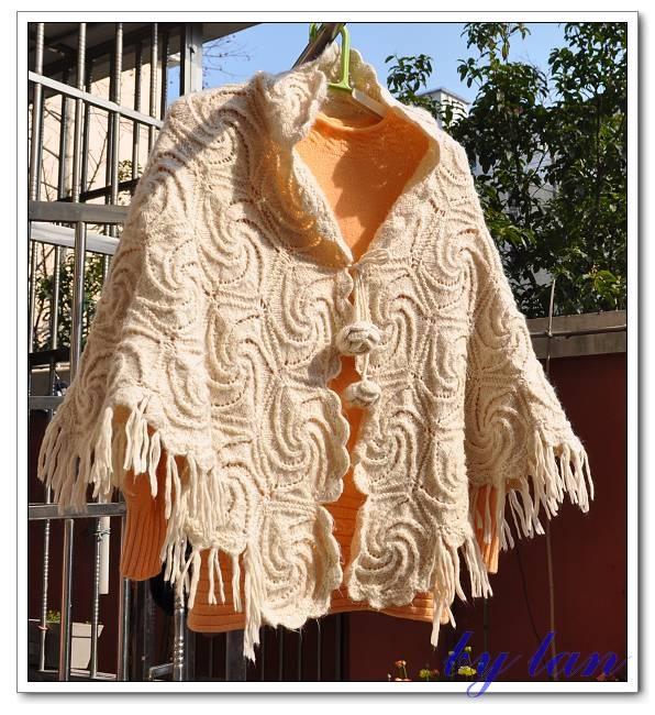 螺旋花拼接编织