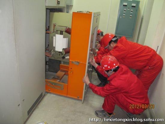 抢险琉璃河(图)-中国石油天然气管道通信电力工程总