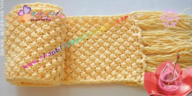 菠萝发带织法图解步骤