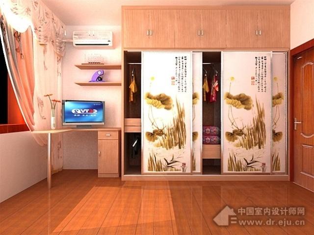 七十套衣柜书柜设计效果 越唐室内外设计工作室 我的