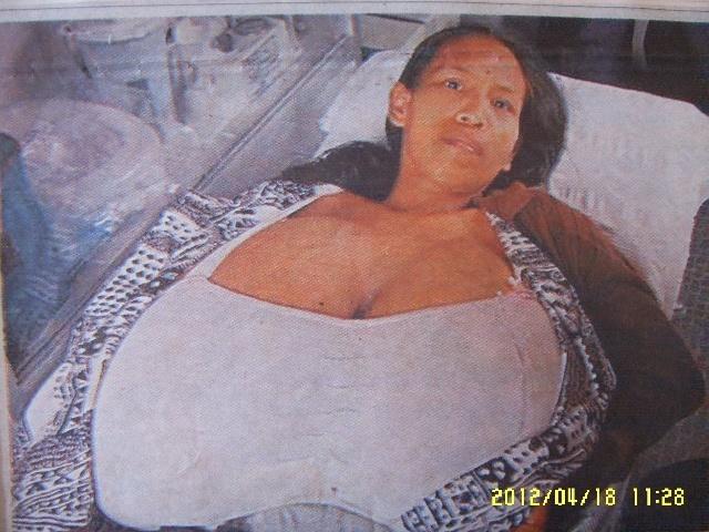 趣事奇闻:绝对重量级的美女