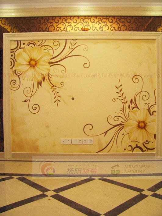 苏州手绘墙-经典的欧式风格中绽放现代风格的光彩-墙